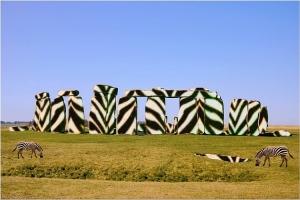 zebra-stonehenge
