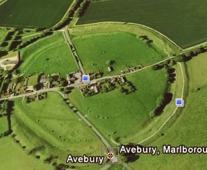 avebury-google-earth