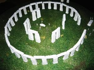 stonehenge-model