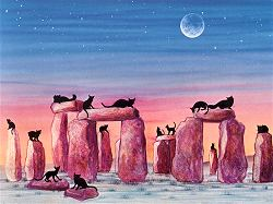 cats on henge