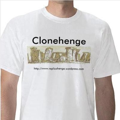 clonehenge t shirt