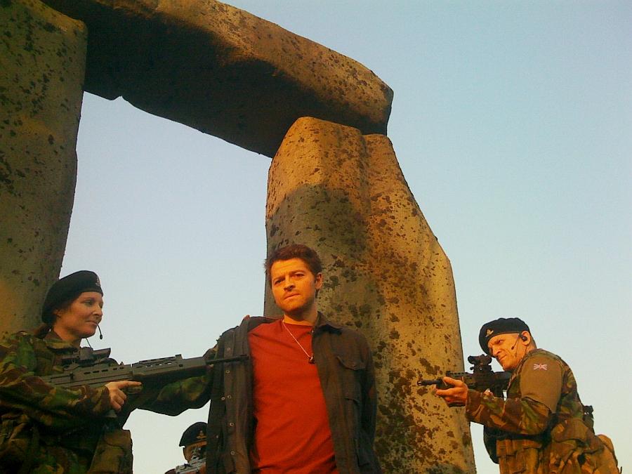 Misha Collins in SyFy's Stonehenge Apocalypse
