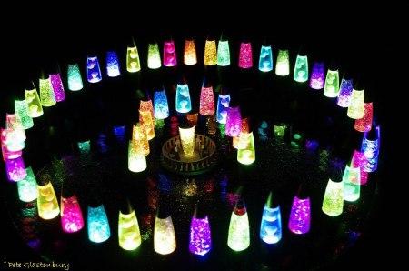 Sammy Glastonbury's Lava Lamp Henge
