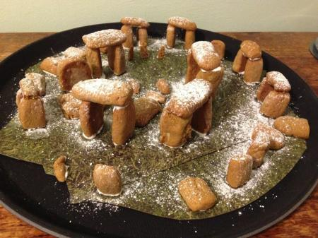 Gingerbread henge by Greg Jenner and friend