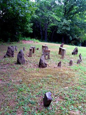 James McCormick's Stonehenge, from Rushing's website