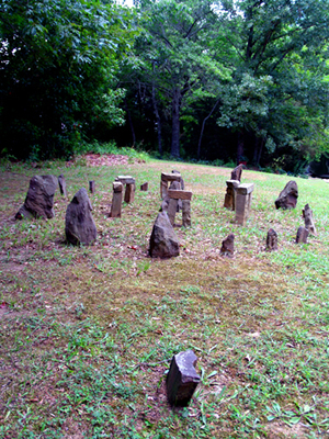 James McCormick's Stonehenge, from Rushing's website
