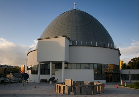 Moscow Planetarium and replica
