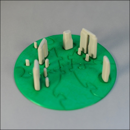 3D printed Stonehenge by MakerBot