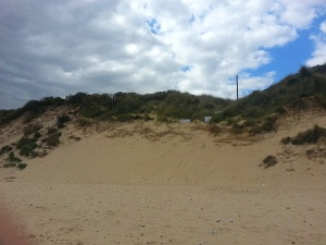 View-blocking dunes