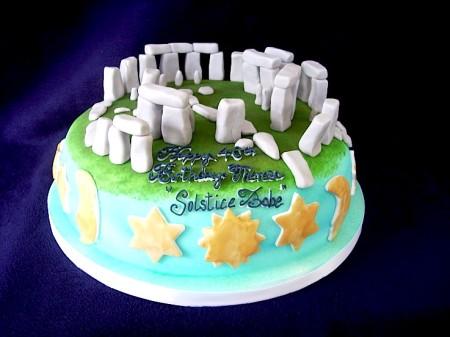 Stonehenge cake, from CakesWeBake.com