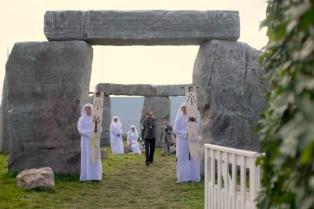 Stonehenge in Sussex, at the Goodwood Revival.
