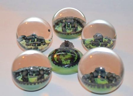 Stonehenge marbles by Chris Inchaos Schiano