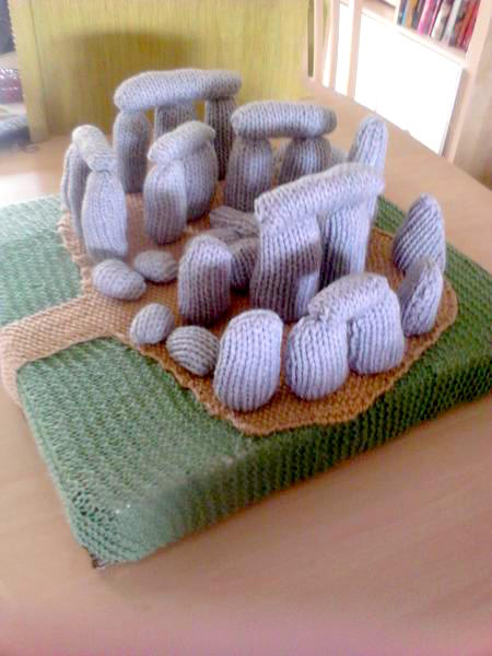 knitted Stonehenge by Toogood Knits