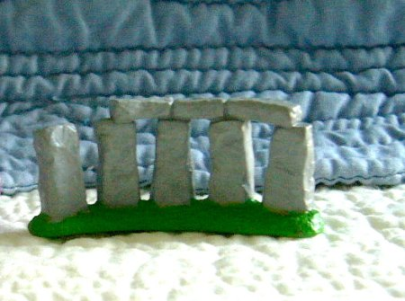 Stonehenge food-safe silicone mold