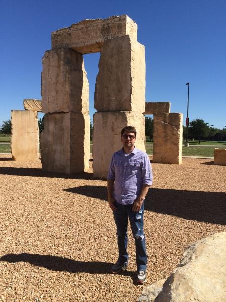 Aaron burell, aligner of Odessa's Henge, TX